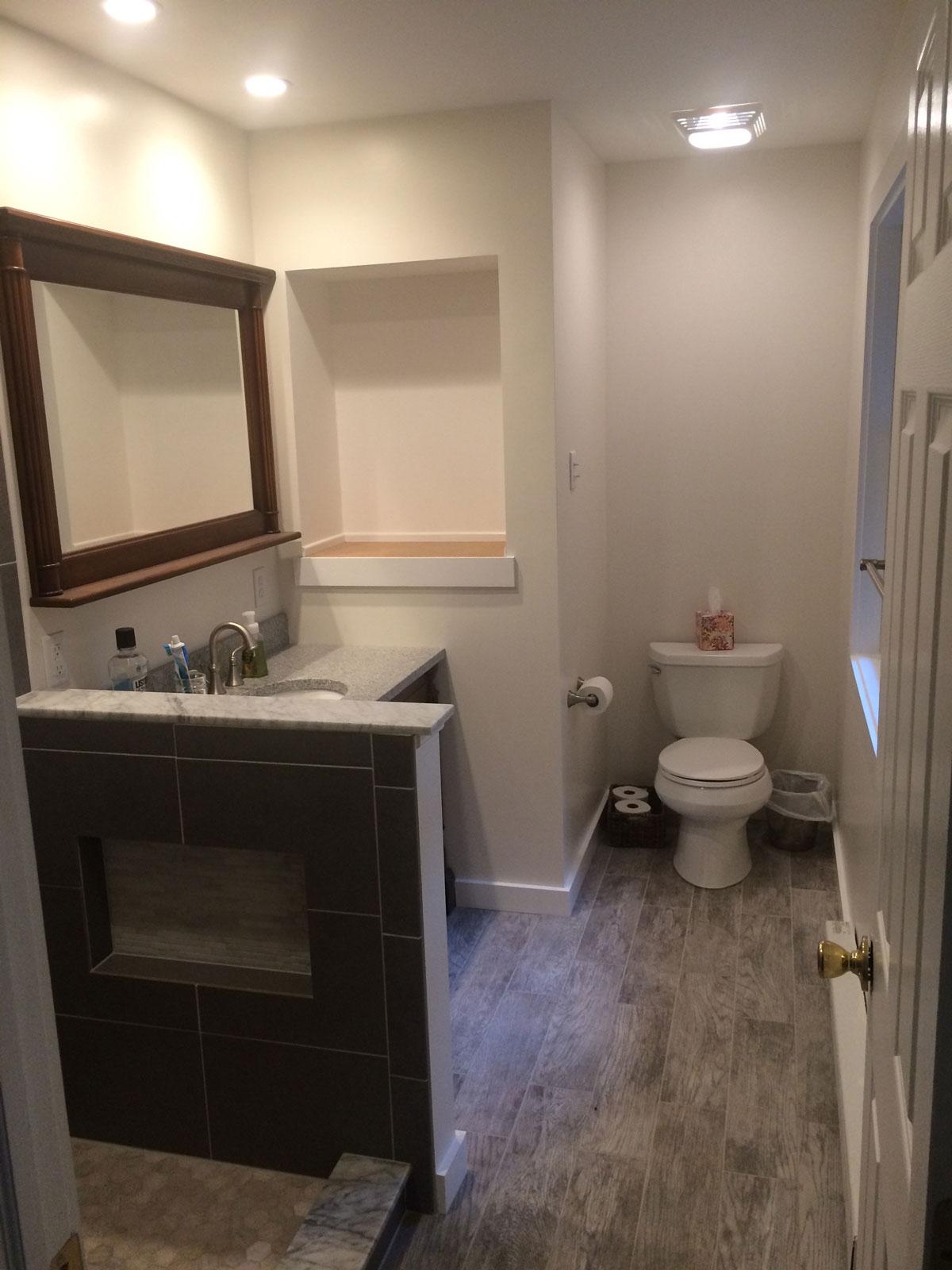 bathrooms by gh remodelers inc