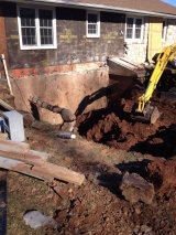 <h5>A Contractors Tale</h5><p>Making progress with the digging!</p>