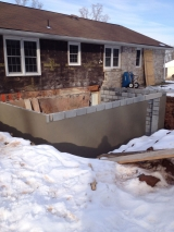 <h5>A Contractors Tale</h5><p>Finished block walls for full basement.</p>