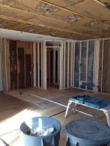 <h5>A Contractors Tale</h5><p>Framing for the pantry!</p>