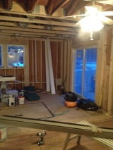 <h5>A Contractors Tale</h5><p>Sliding glass door in!</p>