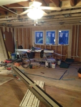 <h5>A Contractors Tale</h5><p>Wall removed - entire space is open now!</p>
