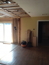 <h5>A Contractors Tale</h5><p>New wall adjoined to existing house.</p>